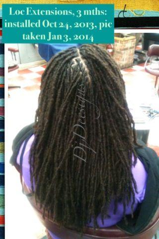Long MidBack Loc Extensions  Loc Extensions  Human Hair