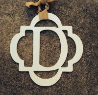 wooden monogram for front door | Home is where the  is ...