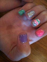 shellac nail design ideas