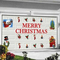 Quick and Easy Christmas Decorations. Magnetic garage door ...