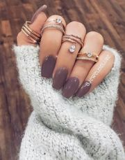 winter nail colors ideas