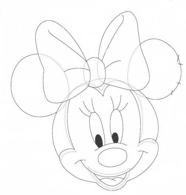 71 best images about Mickey Mouse y Minnie Mouse / moldes