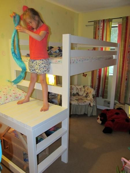 Loft Bed For Phaedra Do It Yourself Home Projects From
