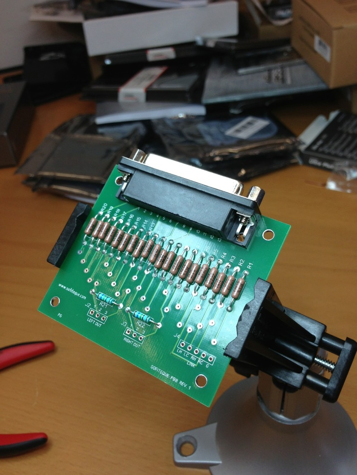 Very Simple Audio Mixer Circuit