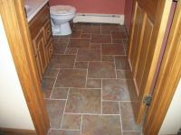 canyon slate w white grout | Flooring | Pinterest | Lowes ...