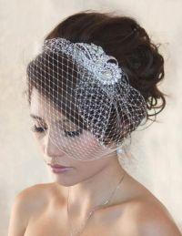 25+ best ideas about Birdcage Veils on Pinterest ...