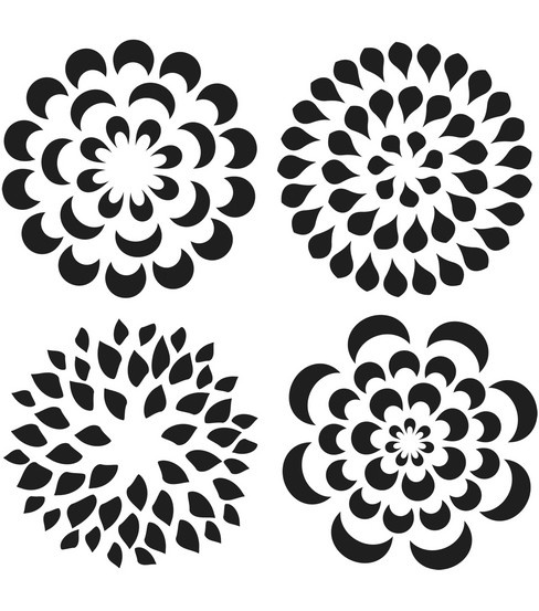 1000+ images about DIY Flower Templates on Pinterest