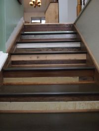 Top 25 ideas about Reclaimed Wood Stairs & Railings on ...