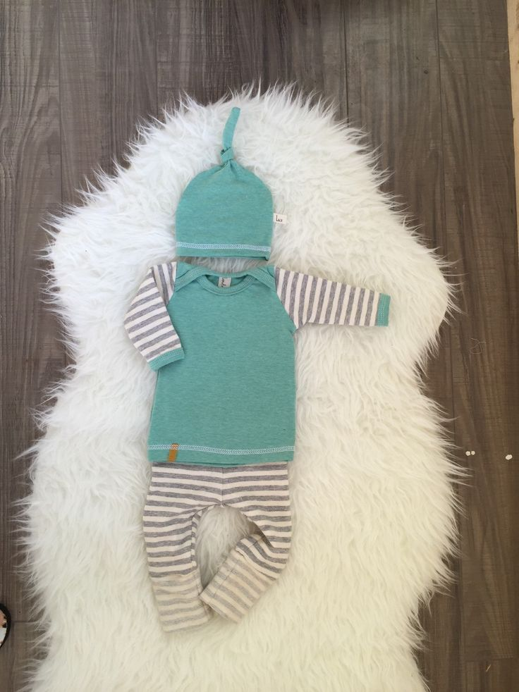 Baby boy coming home outfit! Boys take home outfit, pants shirt and matching top knot hat. Size Newborn **Made to Order**