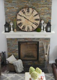 Best 20+ Rustic Fireplace Decor ideas on Pinterest | Stone ...