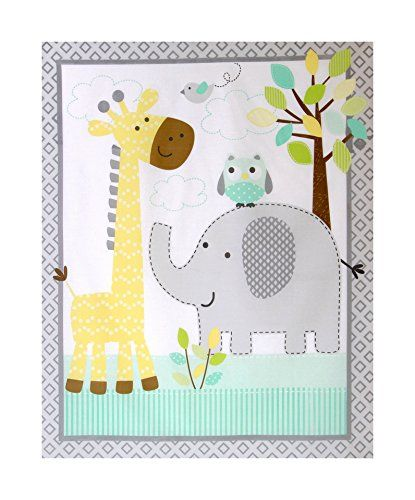 Nursery Childrens Babies Cot Quilt Wall Hanging Play Mat