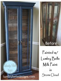 25+ Best Ideas about Painted Curio Cabinets on Pinterest ...