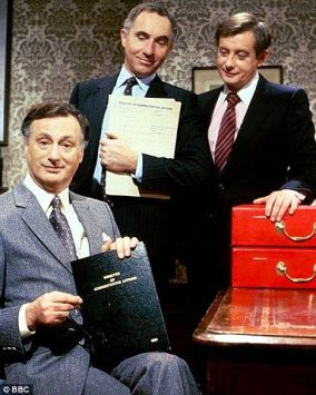 Image result for yes, minister tv series