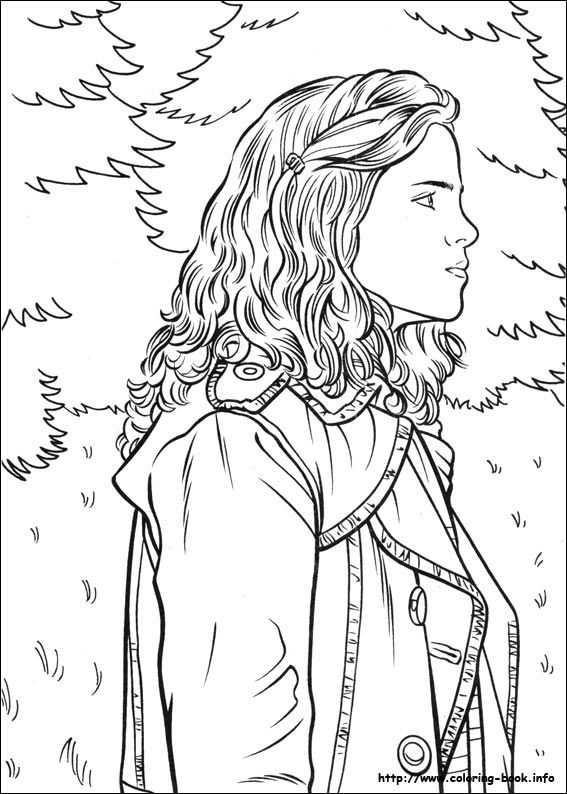 17 Best images about Coloring Pages (Harry Potter) on