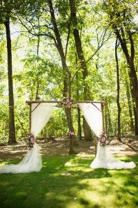 25+ best ideas about Outdoor wedding backdrops on ...