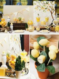 25+ best ideas about Yellow bridal showers on Pinterest ...