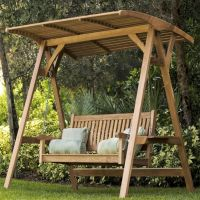How To Build A Canopy Glider Swing - WoodWorking Projects ...