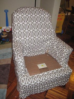 chair covers for wingback recliners bean bags 17 best ideas about couch slip on pinterest | covers, slipcovers and ...