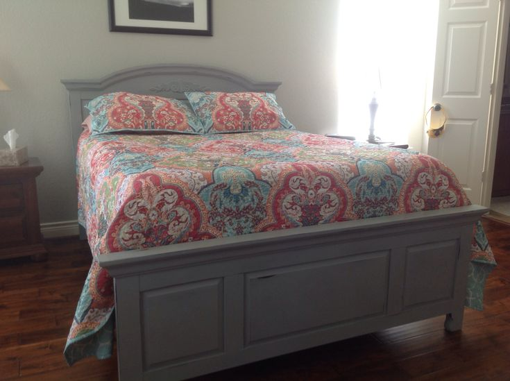 Broyhill Fontana changed and distressed in Paris Grey Love it  Chalk paint  Pinterest  Best