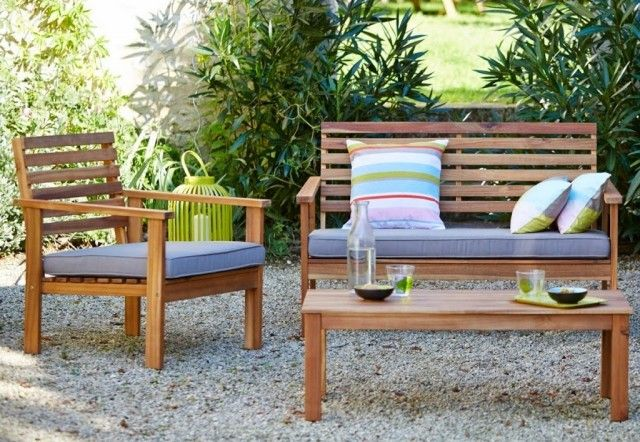 Un mini salon de jardin pour petit espace  Places Deco and Minis