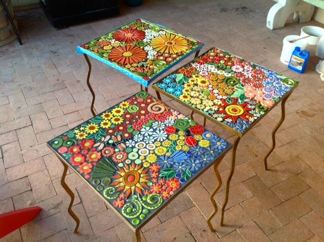 25 Best Ideas About Mosaic Tables On Pinterest Mosaic Mosaic