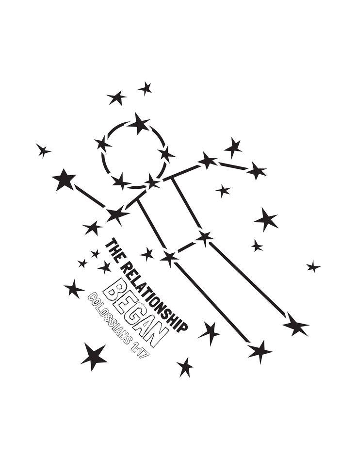 1000+ ideas about Constellation Craft on Pinterest