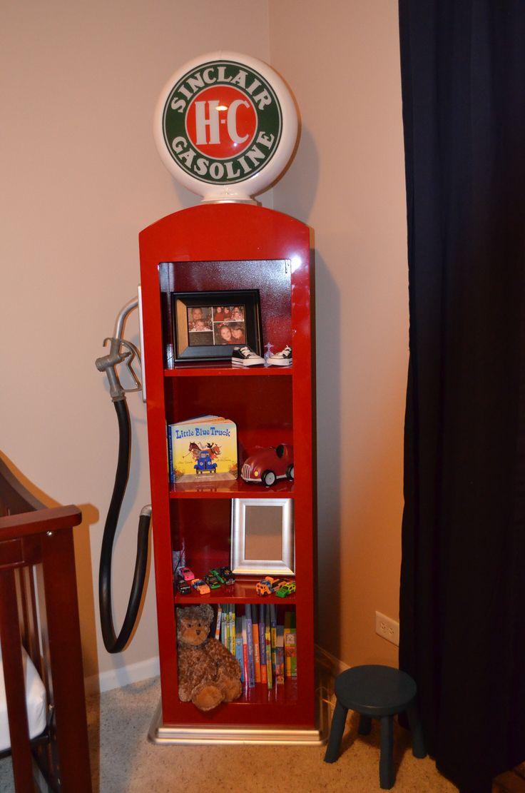Custom made Gas Pump book shelf  Little Man Cave  Pinterest  Pump Medium and Gas pumps