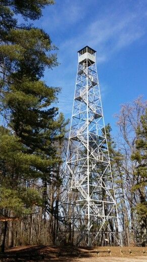 Hickory Ridge Fire Tower  Monroe County Indiana  Midwest