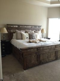 25+ Best Ideas about Rustic Bed on Pinterest | Rustic bed ...