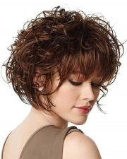 ideas curly bob hairstyles