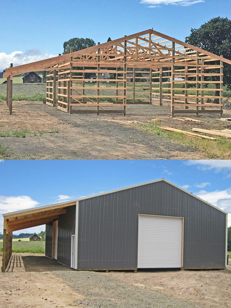 17 Best ideas about 40x60 Pole Barn on Pinterest  Pole barn house kits Pole barn home kits and