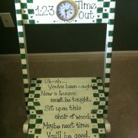 Time out chair! | Classroom | Pinterest | Time Out Chair ...