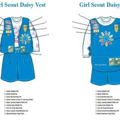 Daisy Tunic Diagram 2007 Honda Civic Serpentine Belt Patch Placement | Girl Scouts Pinterest Daisies