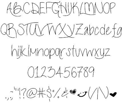 1000+ ideas about Pretty Fonts Alphabet on Pinterest