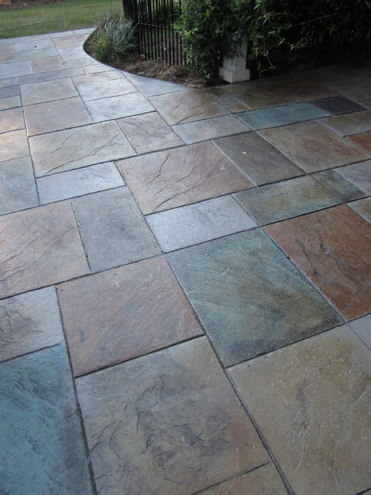 25 Best Ideas about Stamped Concrete Patios on Pinterest  Stamped concrete Concrete patios