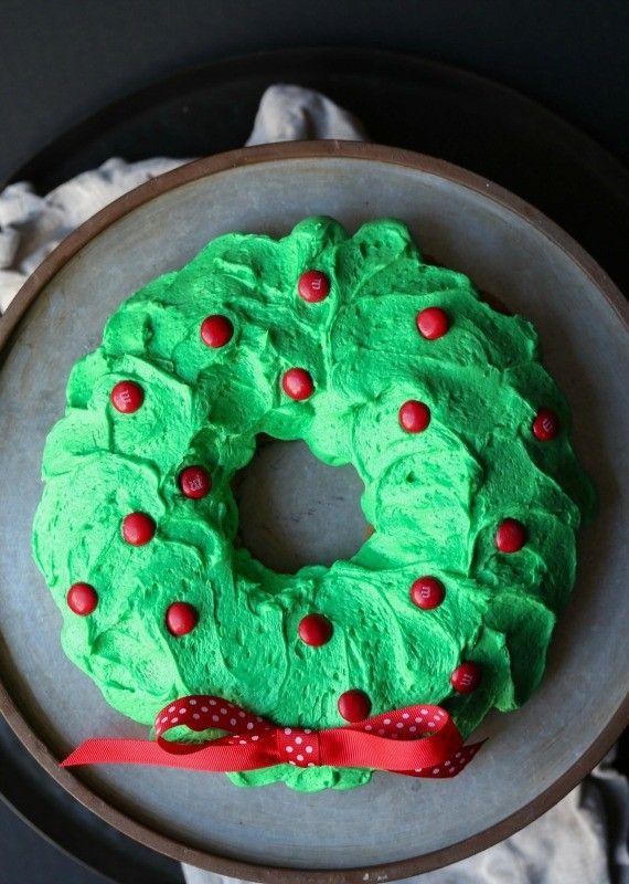 M Amp M Wreath Cake Recipe More Wreaths Ideas