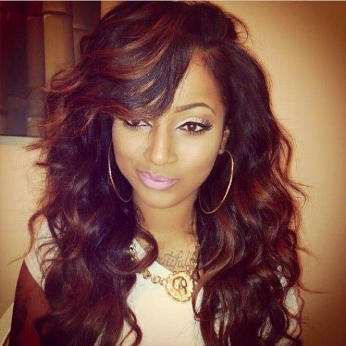 25 Best Ideas About Sew In Weave Hairstyles On Pinterest Sew In