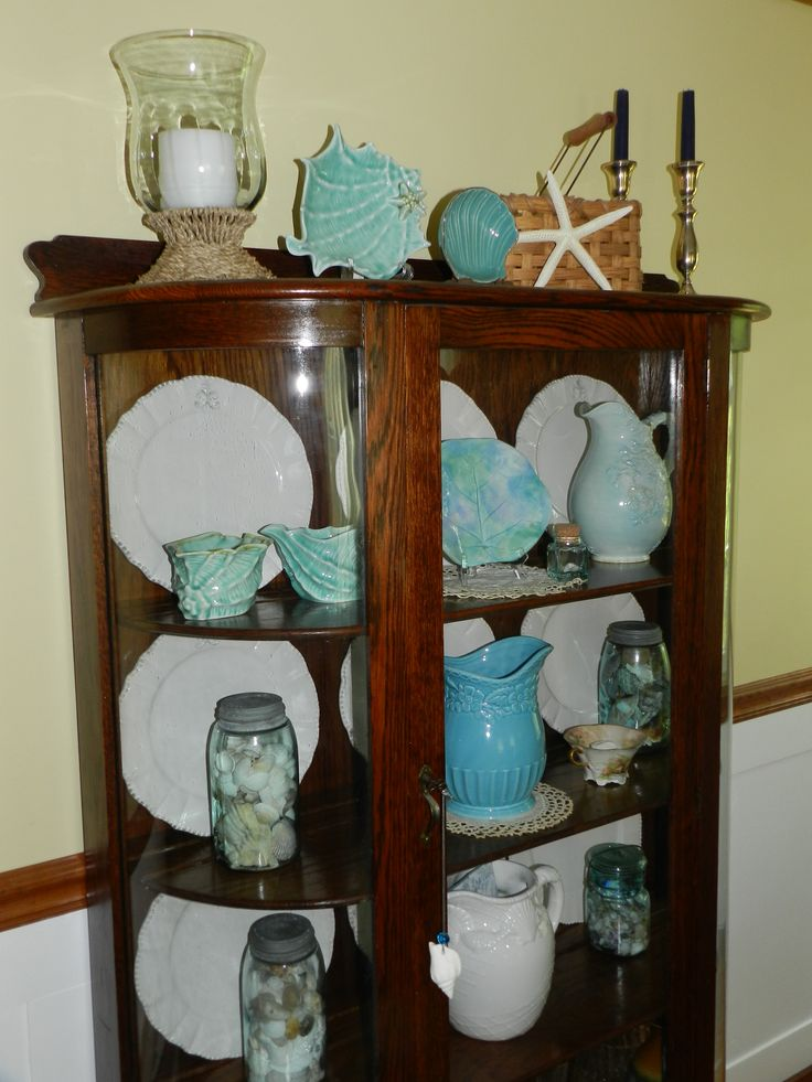 1000 images about China cabinet decor in and above on Pinterest  China cabinets Fall