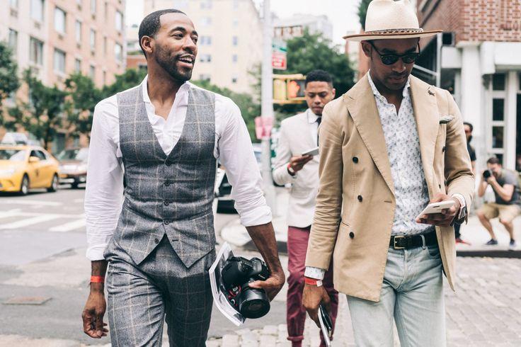 New York Fashion Week Men's Spring 2017 Street Style Takes Over Manhattan  Fashion Weeks
