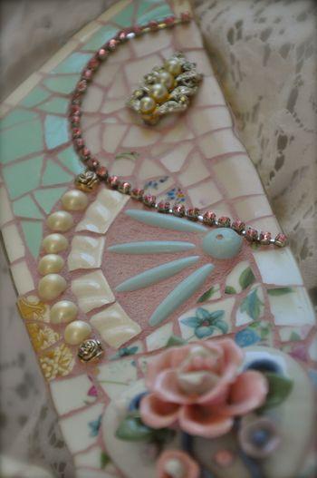 shabby chic mosaic detail Nice dj  Mosaics  Pinterest