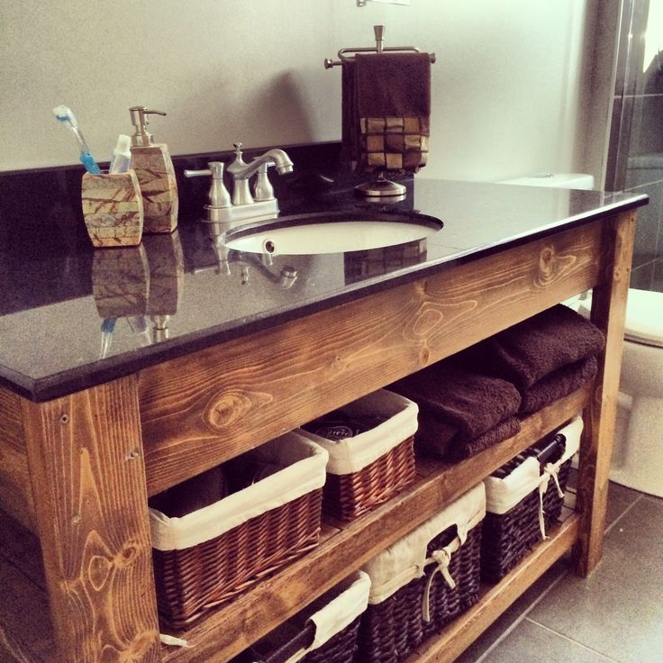 Custom Vanity Sink Top From Rona Base 50 From 2x4 And
