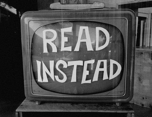 11 Reasons Books are Better Than Television