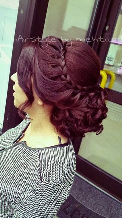 1000 Ideas About Easy Formal Hairstyles On Pinterest