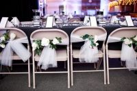 Do-It-Yourself Wedding Chair Decorations | Make a Quick ...