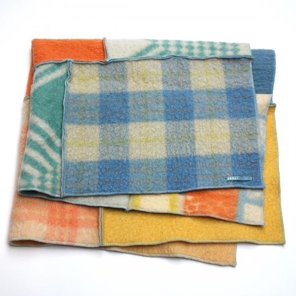 deken patchwork pastel plaid patchwork pastel at www