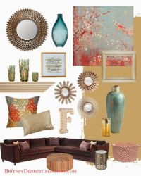 1000+ ideas about Coral Living Rooms on Pinterest | Coral ...