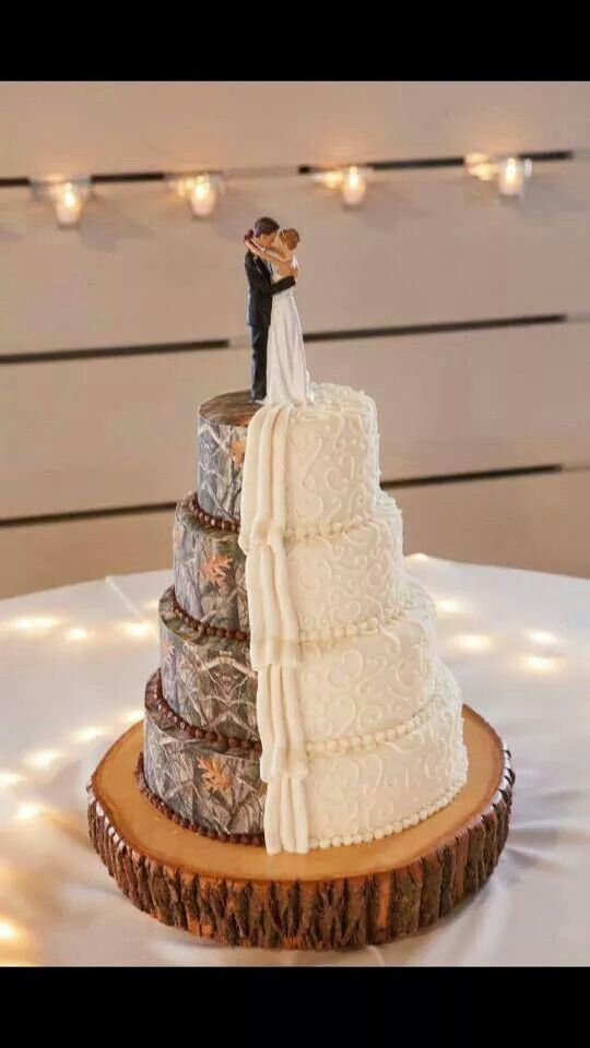 17 Best Ideas About Camo Wedding Cakes On Pinterest Camo