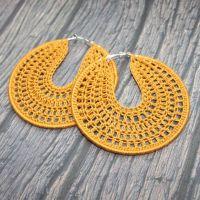 Best 25+ Crochet earrings pattern ideas on Pinterest