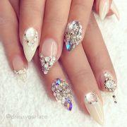 ideas crystal nails