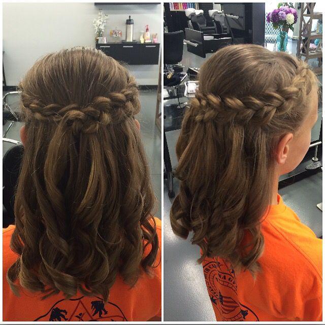 25 Best Ideas About Kids Wedding Hairstyles On Pinterest Flower